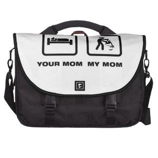 Amante del mono bolsas para ordenador