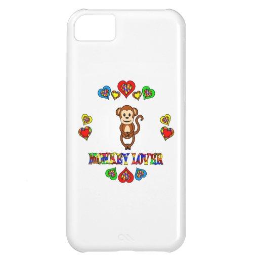 Amante del mono funda para iPhone 5C