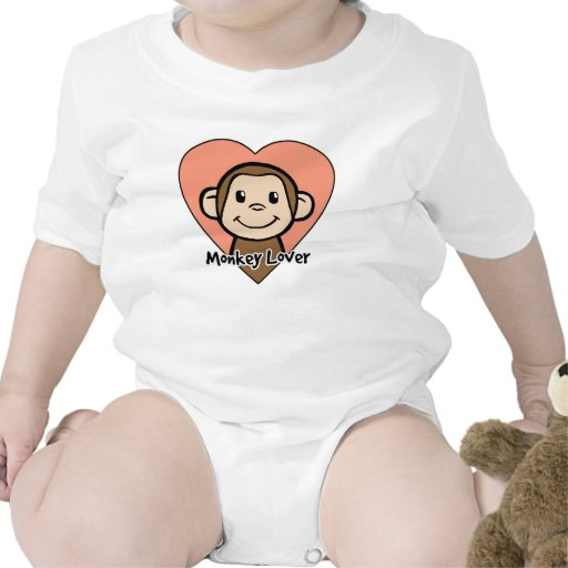 Amante del mono trajes de bebé