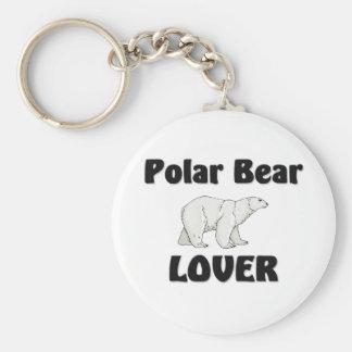 Amante del oso polar llavero