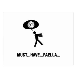 Amante del Paella Postal