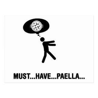 Amante del Paella Postales