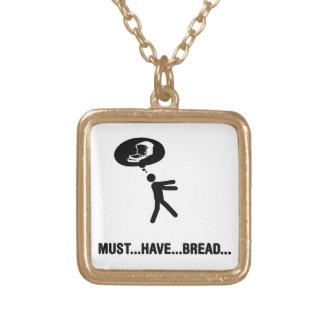 Amante del pan pendientes