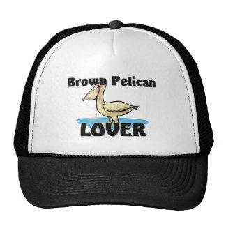 Amante del pelícano de Brown Gorro