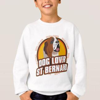 Amante del perro de St Bernard Sudadera