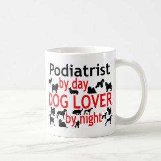 Amante del perro del Podiatrist Taza De Café