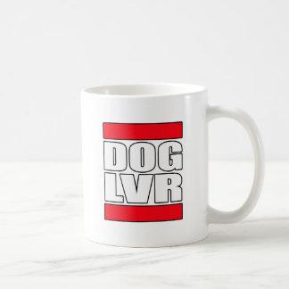 amante del perro del rescate del mascota taza