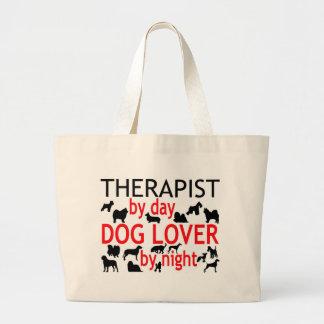 Amante del perro del terapeuta bolsas