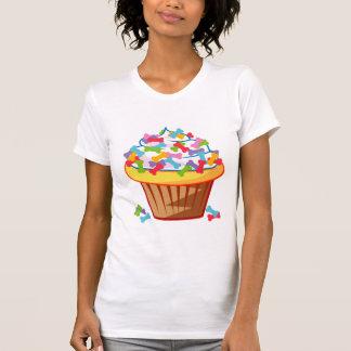 Amante del perro - magdalena con la camiseta de poleras