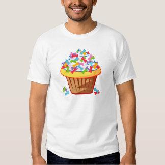 Amante del perro - magdalena con la camiseta de remera