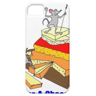 Amante del queso del Sobre-Cumplidor iPhone 5 Case-Mate Fundas
