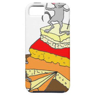 Amante del queso del Sobre-Cumplidor iPhone 5 Case-Mate Protector