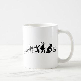 Amante del ratón taza de café