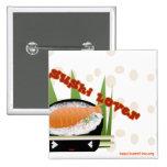 Amante del sushi pin