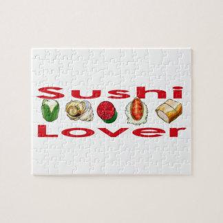 Amante del sushi rompecabeza con fotos