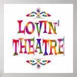 Amante del teatro poster