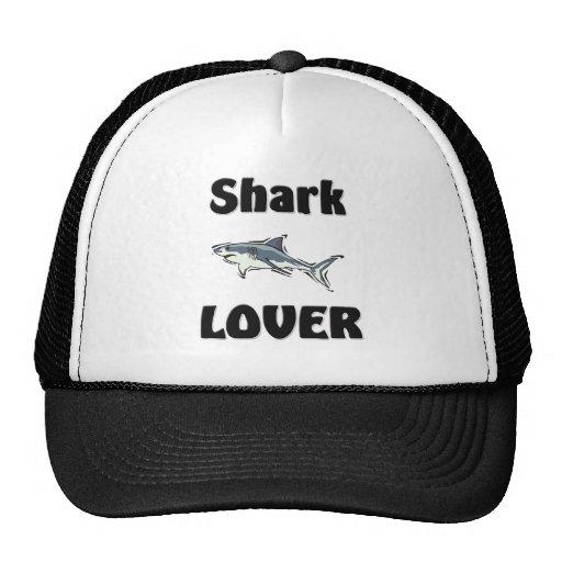 Amante del tiburón gorro de camionero