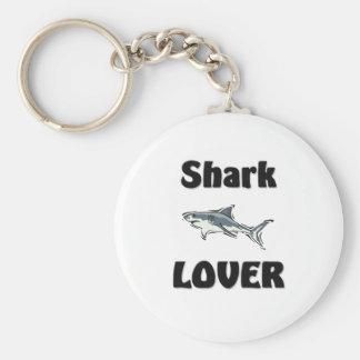 Amante del tiburón llaveros