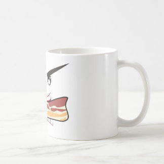 Amante del tocino taza