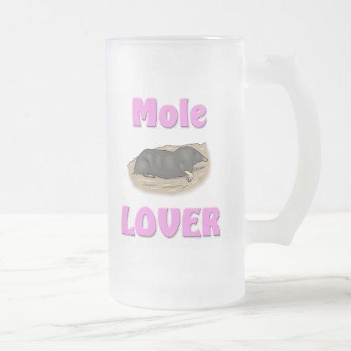 Amante del topo tazas