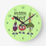 Amante del Veggie Relojes