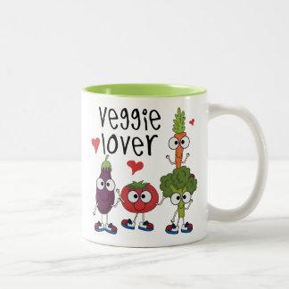 Amante del Veggie Tazas