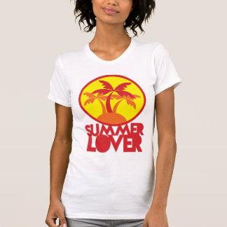 AMANTE del VERANO con las palmeras T-shirts