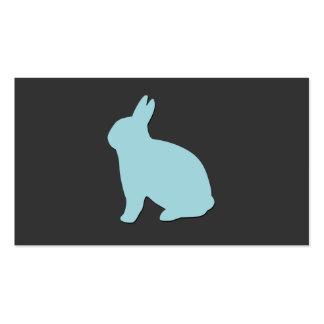 Amante del veterinario animales conejito conejo tarjetas personales