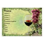¿Amante del vino.? ¿Amo del arte de hacer el vino. Tarjetas De Visita