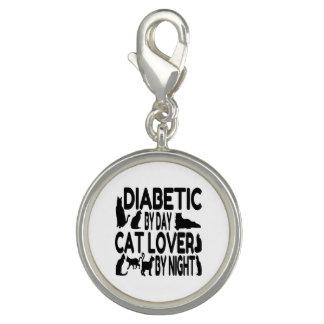 Amante diabético del gato dije con foto