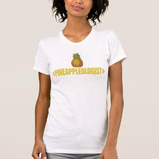 Amante divertido de la piña camisetas