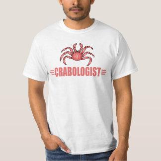 Amante divertido del cangrejo polera
