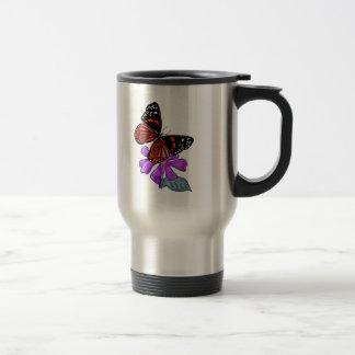 Amante feliz de la flor tazas