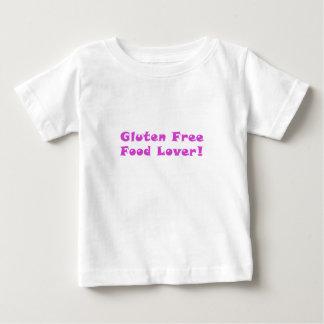 Amante libre de la comida del gluten playeras