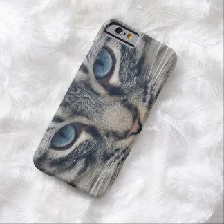 Amante lindo hermoso del animal del gatito del funda de iPhone 6 barely there
