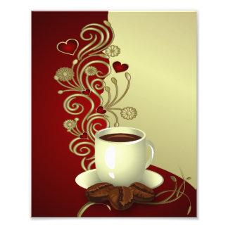 Amante moderno del café fotos