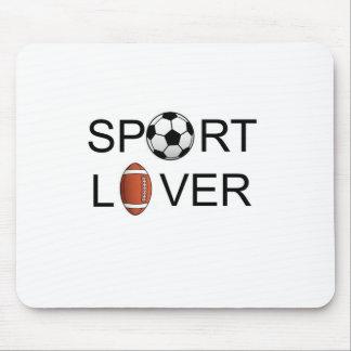 Amante Mousepad del deporte