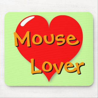 Amante Mousepad del ratón