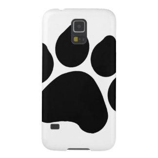 AMANTE negro simple del ANIMAL de la impresión de Carcasa De Galaxy S5