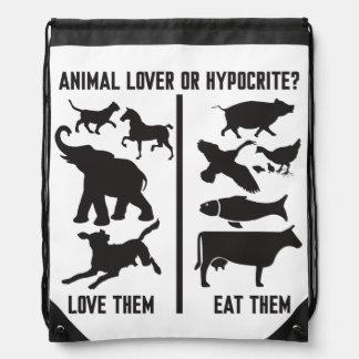 ¿Amante o hipócrita animal? Mochilas