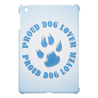 Amante orgulloso del perro