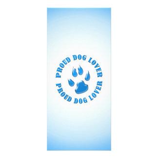 Amante orgulloso del perro tarjetas publicitarias personalizadas