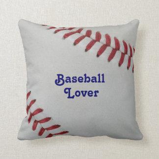 Amante perfecto del _Baseball de Fan-tastic_pitch Almohada