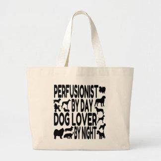 Amante Perfusionist del perro Bolsa Tela Grande