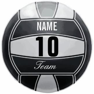 Amante personalizado del deporte del voleibol llavero fotográfico