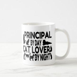 Amante principal del gato taza de café