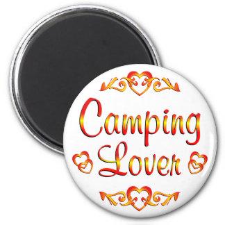 Amante que acampa imanes