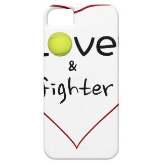 Amante y un regalo del tenis del combatiente iPhone 5 fundas