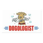 Amantes chistosos del perro tarjetas de visita