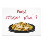 Amantes de Gimme Kimchi Kimchi Invitación